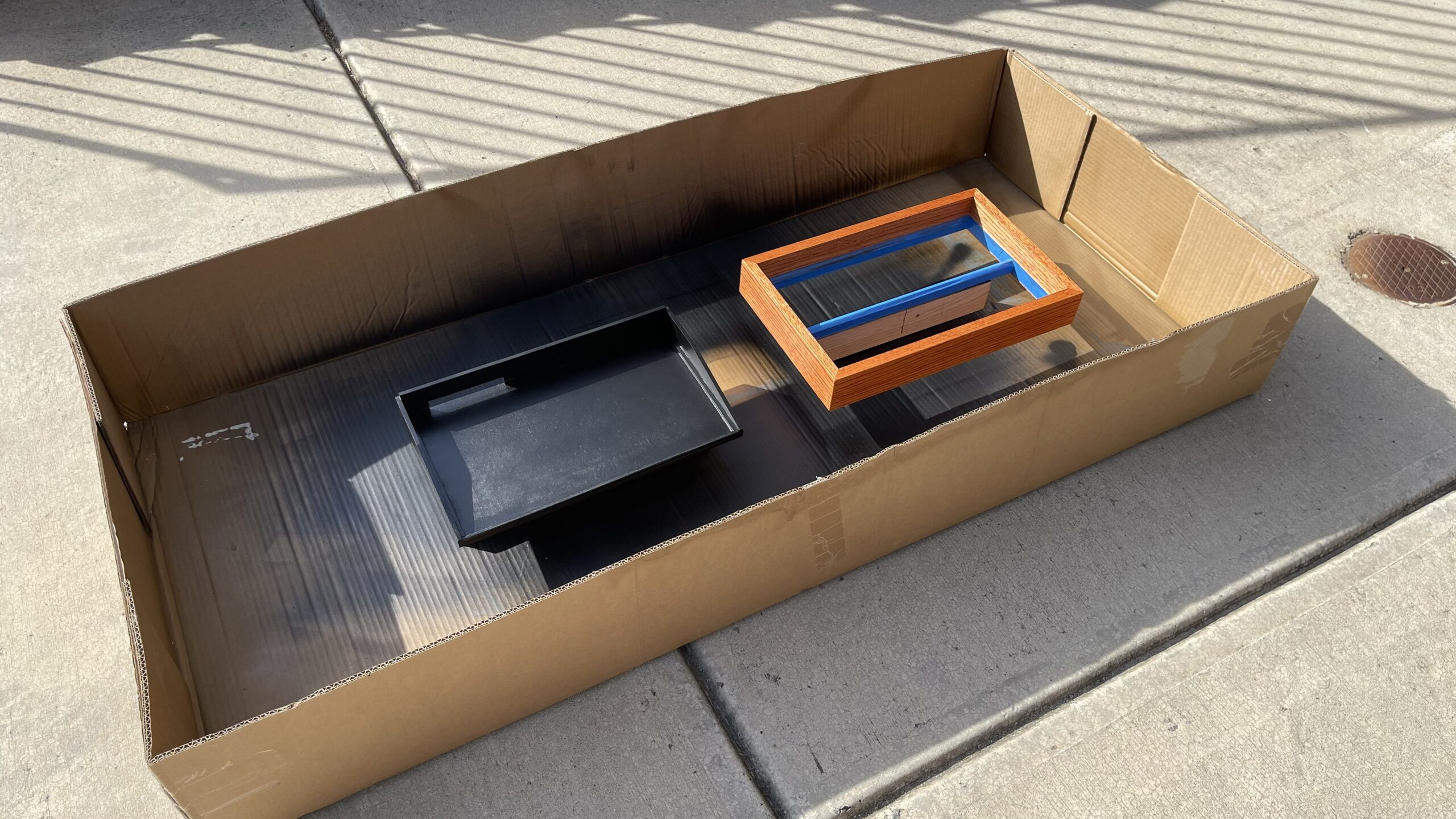 DIY eurorack modular synth case sketchup moog subharmonicon dfam